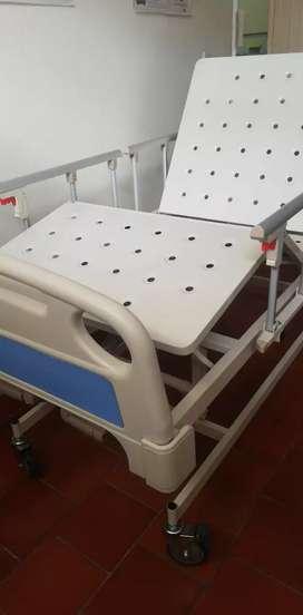 Camas Hospitalarias Tres Funciones Manuales NUEVAS Llamenos