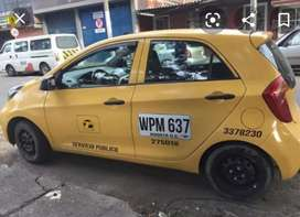 Conductor taxi kia picanto