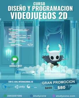 CURSO CREACIÓN DE VIDEOJUEGOS 2D