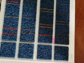 Alfombras modulares tipo baldosas, alfombras de pared a pared de tráfico liviano, medio y alto tránsito