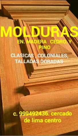 MOLDURAS PARA MUEBLES Y PUERTAS