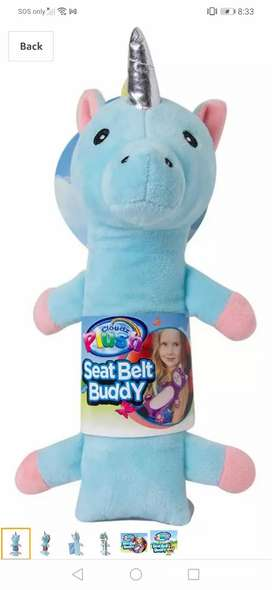 Peluches para cinturon de SEGURIDAD para niños