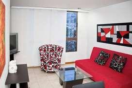 Apartamento amoblado en Conquistadores ID222