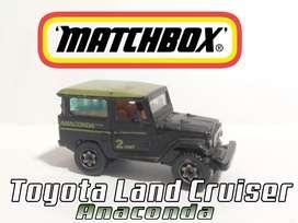 MATCHBOX (TOYOTA LAND CRUISER) VERSION ANACONDA