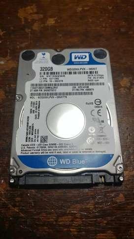 """Disco rígido 320GB 2.5"""""""