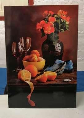 Se hacen cuadros personalizados y decorativos