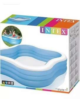Piscina inflable familiar cuadrada