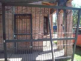 Portón y puertas de hierro reforzados rejas para frente d artísticos