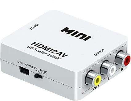 Conversor HDMI a RCA 0
