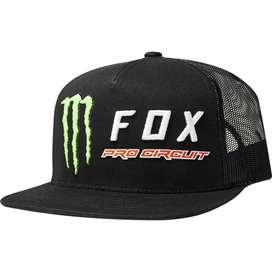 Gorras FOX MONSTER Trucker Snapback Negra
