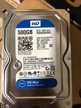 Disco duro pc 500gb