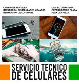 Repaciones de Celulares LG - Motorola - Iphone