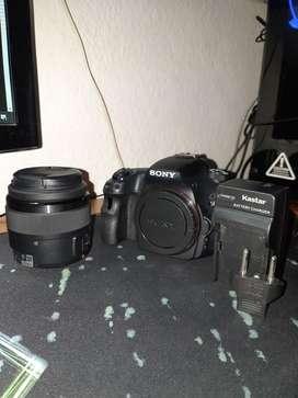 Camara Sony Alpha A58