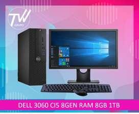 DELL 3060 CI5 8GEN RAM 8GB DISICO DURO 500 GB.