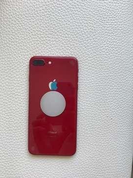 Iphone 8 plus rojo estado 10/10
