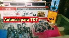 DECOS DE TDT ,Y ANTENAS DE AIRE Y ALTA