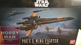 X-wing Resistance Fighter Poe 1/72 Bandai Star Wars