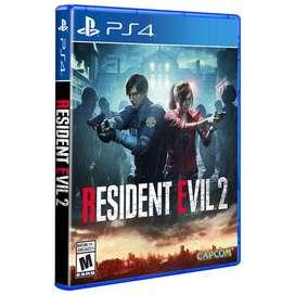 Resident Evil 2 Remake Nuevo y Sellado Con Regalo
