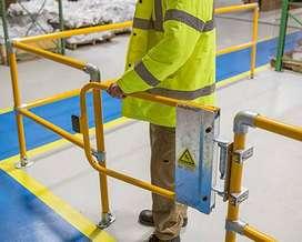 puertas de seguridad automáticas para prevención de caídas