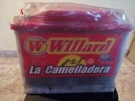 Batería nueva para carro nunca se uso willard 650