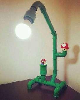 lampara de mario bros