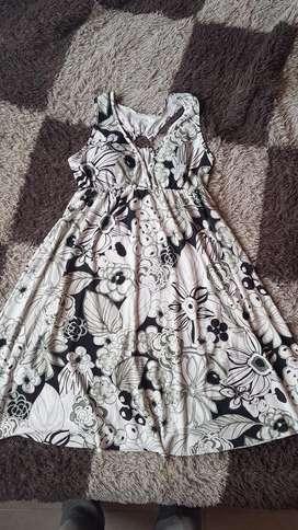 Vendo Vestido de Mujer Seda Fría