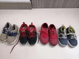 Zapatos de niños. Usados en Buen estado