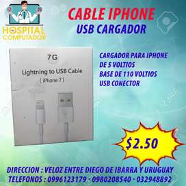 Cable datos Iphone