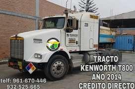 TRACTO KENWORTH T800 AÑO 2014