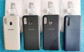 Estuche case de silicona para Samsung A20 A30 A50