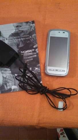 NOKIA 5230 TACT 3.2MPX SD hasta 16GB, RADIO Y MUCHO MAS! PERMUTAS!!