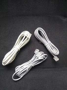 Cable Rj11 de 3 mts