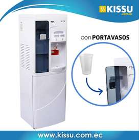 Dispensador De Agua Tcl Agua Fria Caliente Con Portavasos