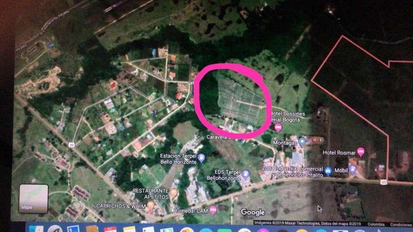 Se vende espectacular lote de 20*50 mts en la zona industrial de Pitalito. 0
