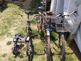 Vendo tres bicicletas antiguas