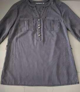Blusa en acetato talla 10