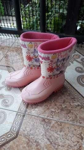 Botas niña croydon