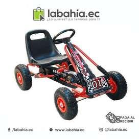 Carro Formula 1 Triciclo tipo GoKart a pedal para niños
