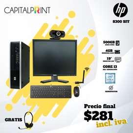 COMBO COMPUTADORA HP