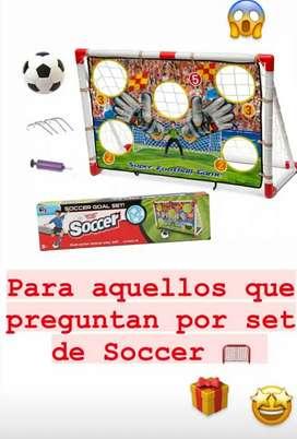 Set de soccer
