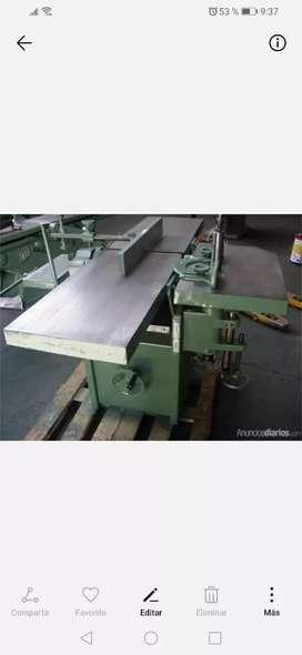 Venta de herramientas y maquinarias para carpinteria