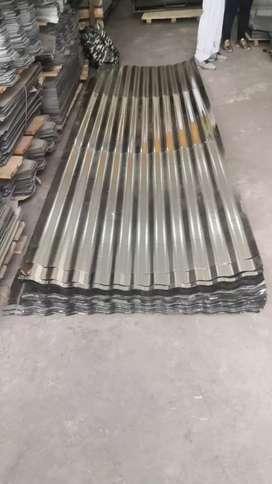 Tejas en lamina hojalata calibre 0.18  Medidas 3 metros x 72 cm de ancho