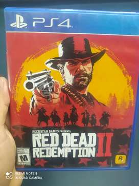 Red dead redemption ll play 4 usado
