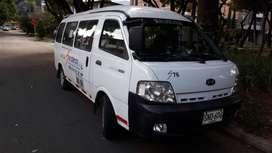 Microbus servicios especiales 19 pasajeros