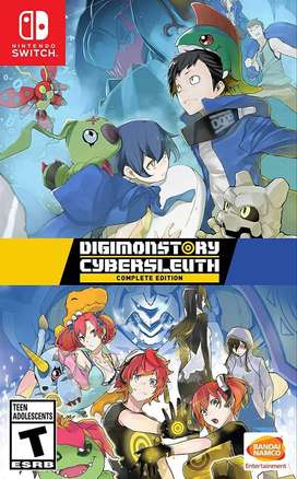 Digimon Cybersleuth: Complete Edition Switch Nuevo y Sellado en Español