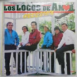 disco vinilo Los locos de amor obsesion