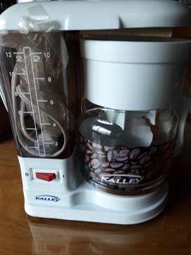 Cafetera KALLEY Blanco