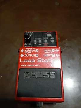 Loop station Rc 3 pedal BOSS