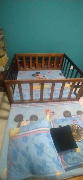 Corral para cama de Niño