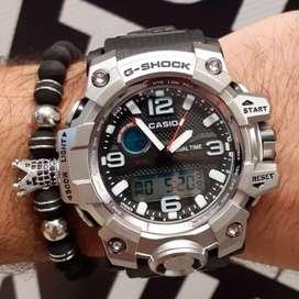 Reloj para caballero plateado